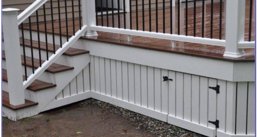Deck Skirting Ideas Other Than Lattice Decks Home