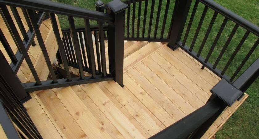 Deck Stairs Landings Louis Decks Screened