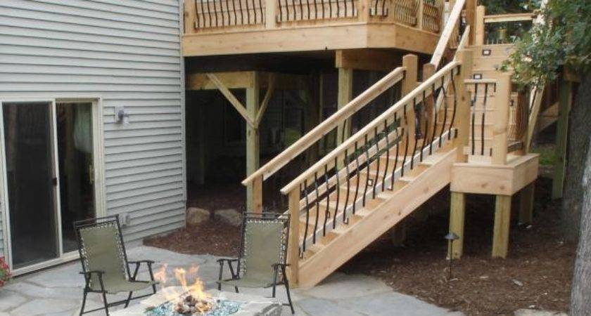 Deck Stairs Steps Hgtv