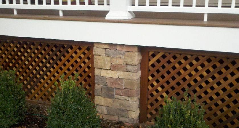 Deck Underpinning Design Ideas