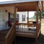 Deck Vaulted Roof Milledgeville Home Maintenance
