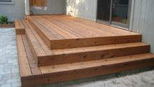 Deck Wrap Around Stairs Can