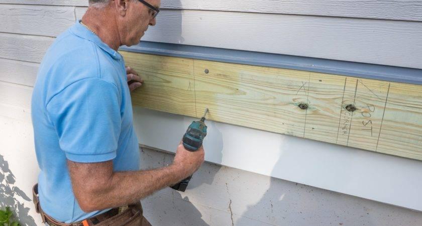 Decks Build Deck Attaching Ledger Board