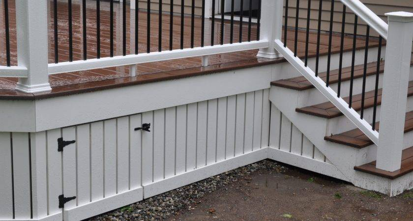 Decks Deck Skirting Fascia