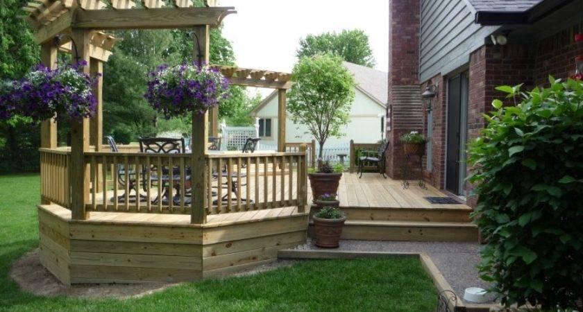 Decks Design Custom Built Wood Cedar
