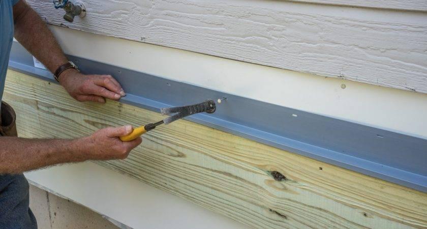 Decks Flashing Ledger Board