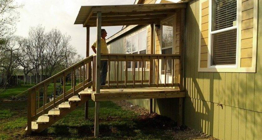 Decks Wood Covered Tiny Houses Manufactured