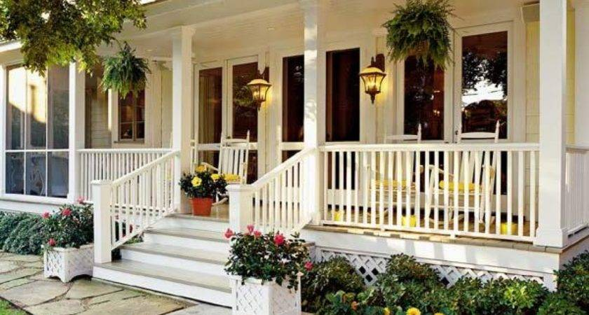 Decorating Front Porch Yard Patio Ideas