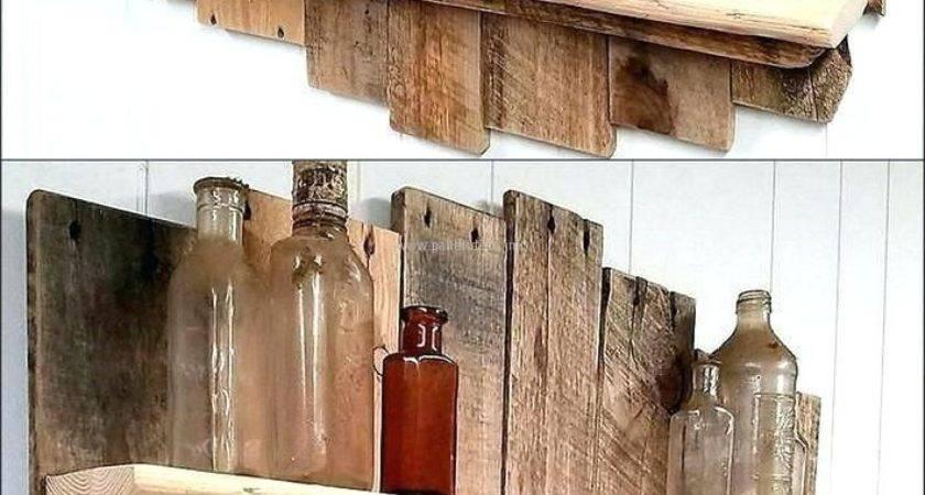 Decoration Making Shelves Out Pallets Magnus Lind