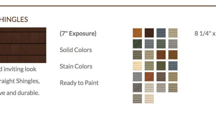 Denver Allura Fiber Cement Siding Shakes Shingles Color