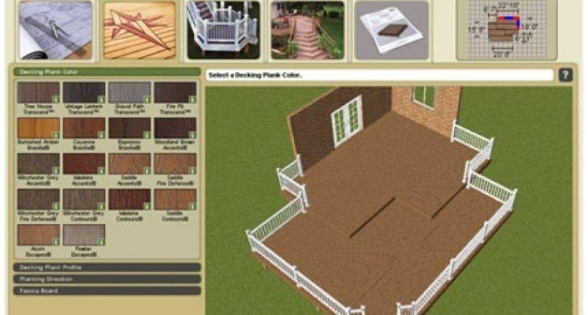 Design Your Own Deck Plans Bing