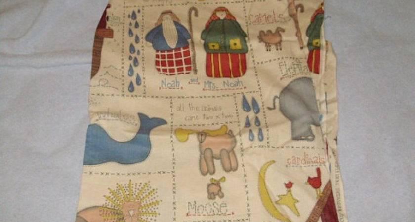 Destash Noah Ark Country Primitive Style Fabric