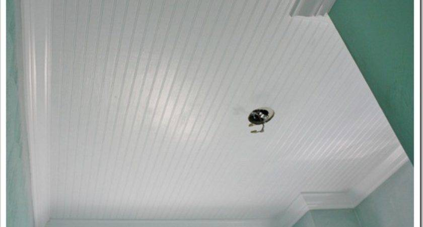 Different Act Normal Install Beadboard Ceiling
