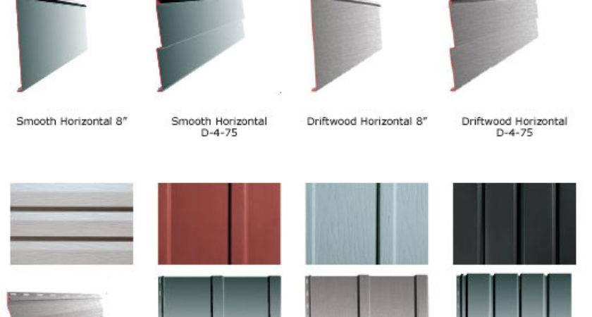Different Types Siding House