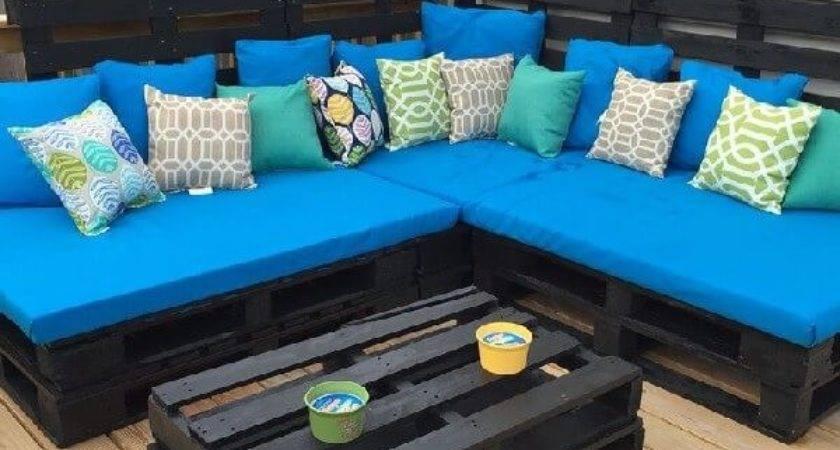 Different Ways Make Pallet Couch Ideas Pallets