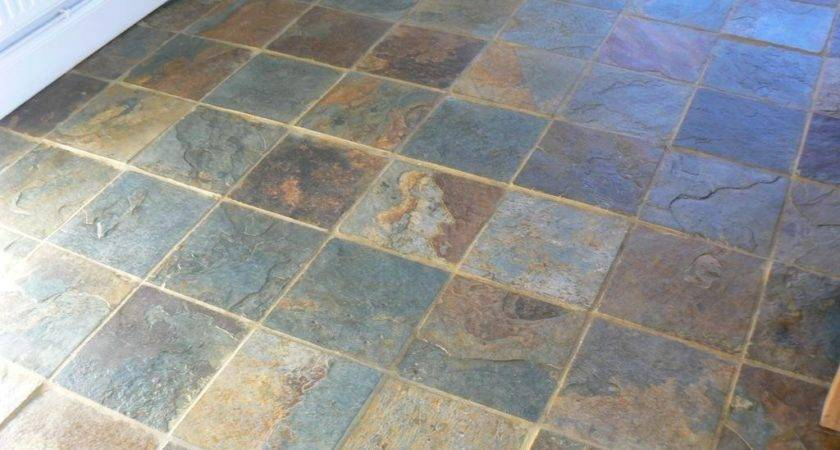 Discount Slate Floor Tile Design Ideas