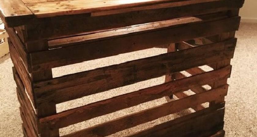 Diy Bar Projects Wooden Pallets Ideas