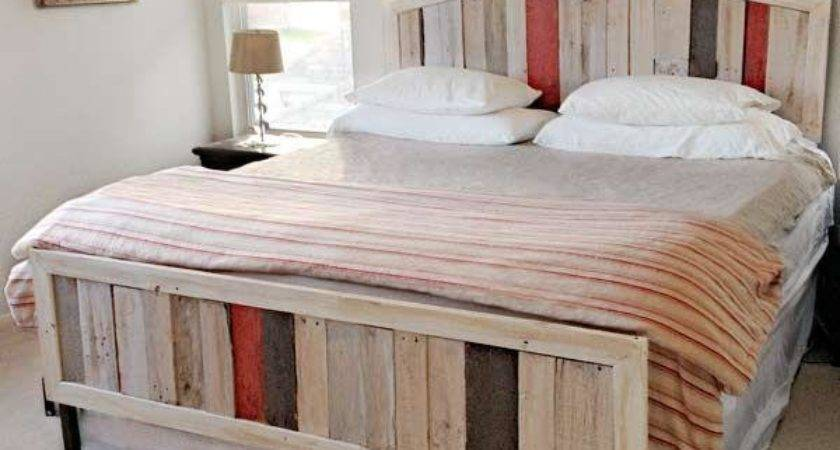 Diy Beds Made Out Pallets Wooden Pallet Furniture