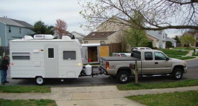 Diy Camper Trailer Built Old Pop Budget