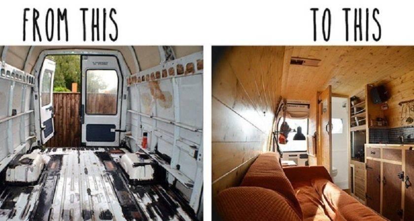 Diy Camper Turn Rusty Van Into Comfy Home Months