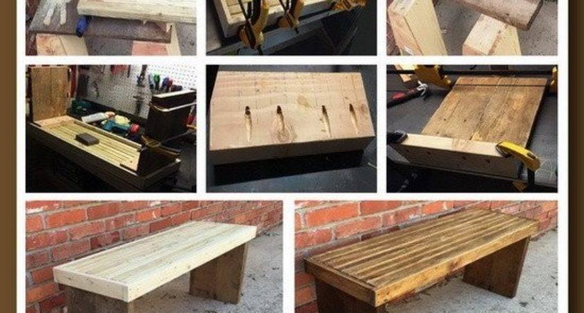 Diy Dollar Beginner Wooden Bench Project