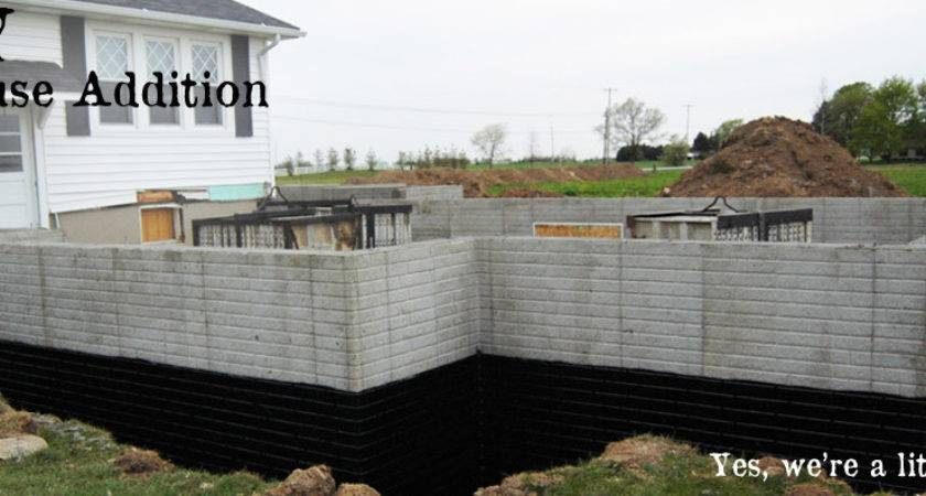 Diy House Addition Step Foundation Diydiva