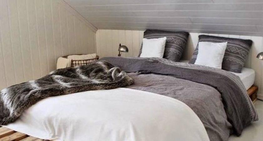Diy Ideas Easy Install Pallet Platform Beds
