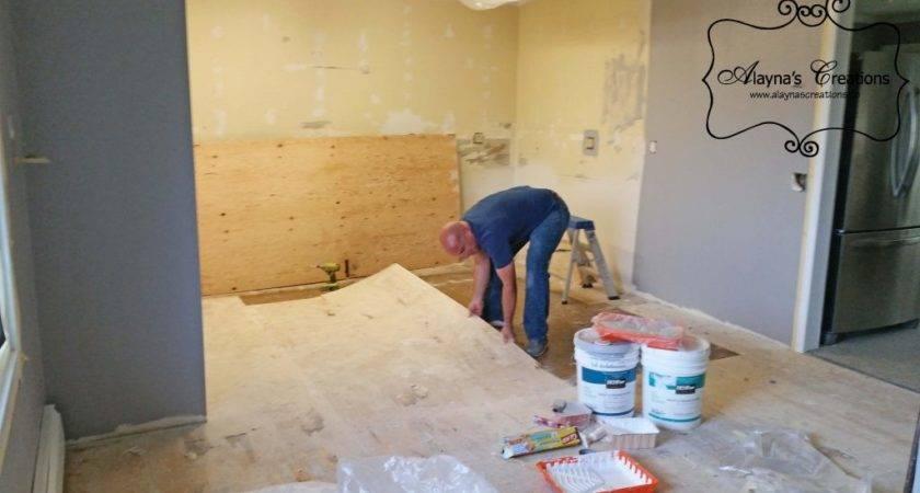 Diy Kitchen Remodel Budget Stage Install