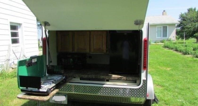 Diy Micro Camping Trailer Built Cheap