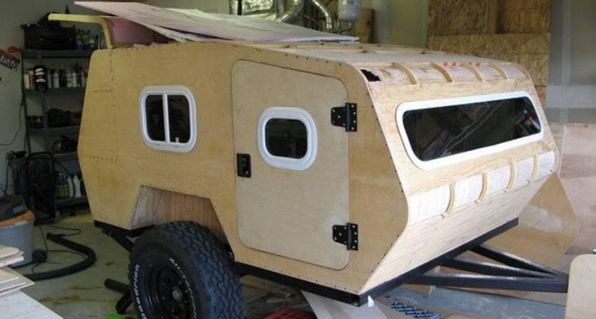 Diy Off Road Teardrop Camper Made Rough Terrain