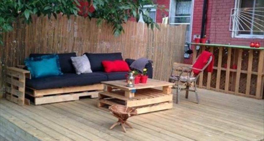 Diy Outdoor Ideas Shipping Pallet Garden