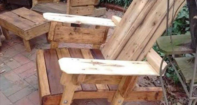 Diy Pallet Adirondack Chair Plans Projects