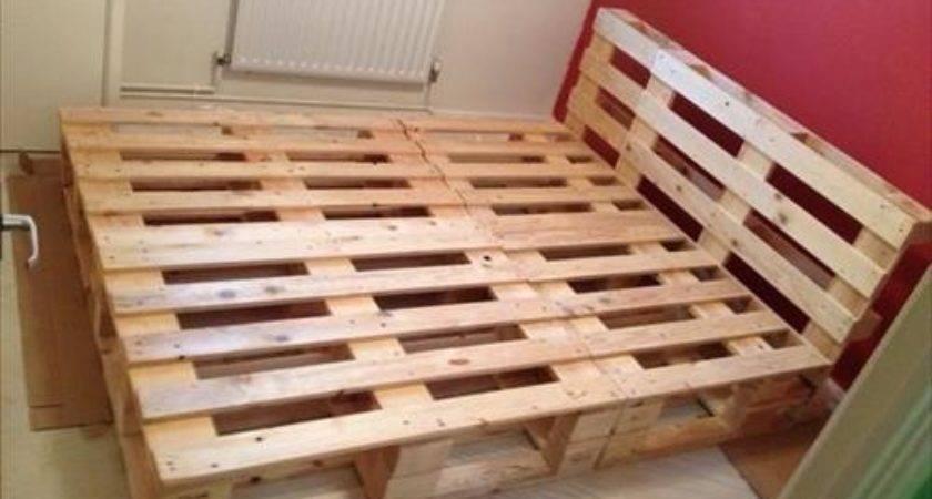 Diy Pallet Bed Frames Your Room Pallets Designs