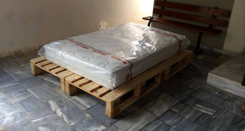 Diy Pallet Bed Instructions Into Glass Make Wood