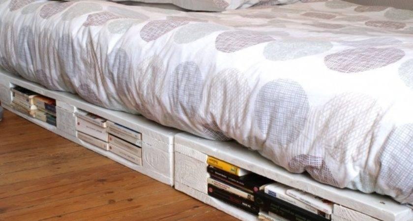 Diy Pallet Bed Lights Ideas Design