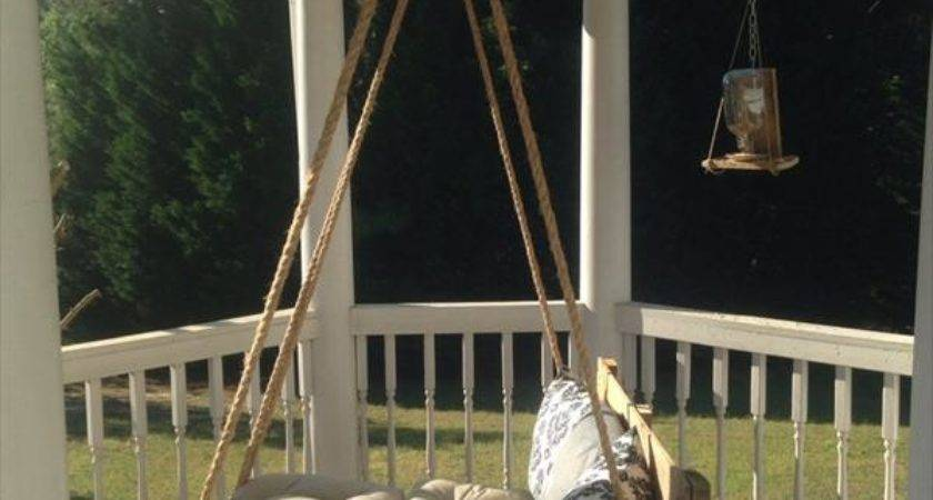 Diy Pallet Bed Porch Swing Furniture Plans