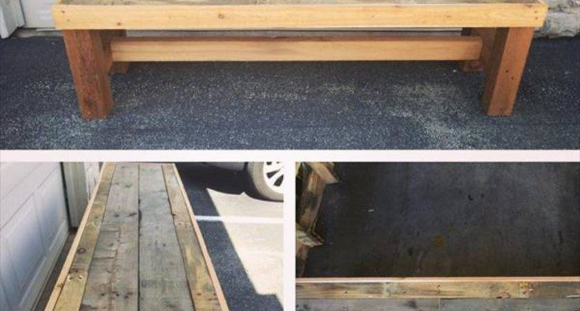 Diy Pallet Bench Furniture Plans