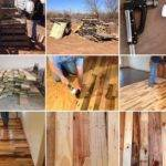 Diy Pallet Flooring Home Design Garden Architecture