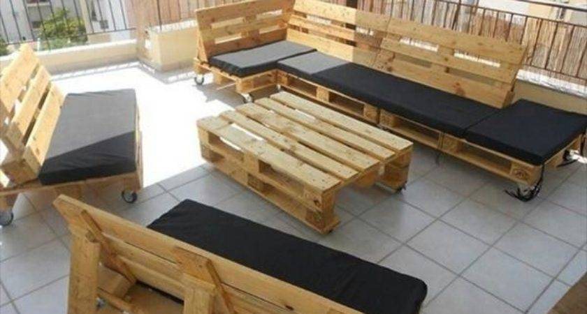 Diy Pallet Furniture Inspiration Pallets Designs
