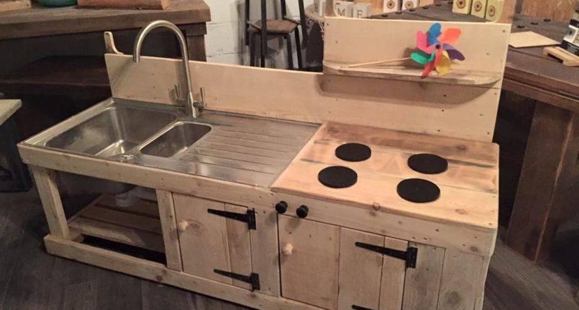 Diy Pallet Mud Kitchen Fresh Sets Make