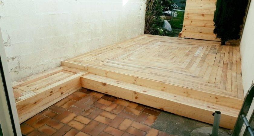 Diy Pallet Outdoor Flooring Decor Home Ideas
