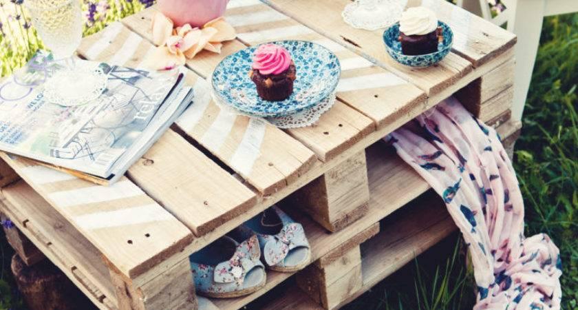 Diy Pallet Patio Garden Furniture Projects