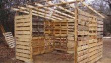 Diy Pallet Shed Project Home Design Garden