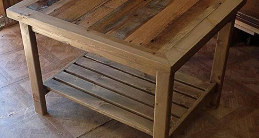 Diy Pallet Table Coat Rack Furniture Plans