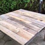 Diy Pallet Table Wood Mesa Madera