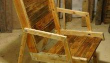 Diy Pallet Wood Rocking Chair Furniture Plans