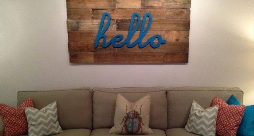 Diy Pallet Wood Wall Art Designs Furniture Plans