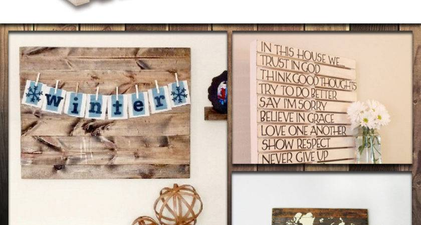 Diy Pallets Wall Art Ideas
