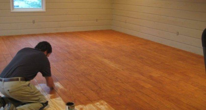 Diy Plank Flooring Cheap Quarry Orchard