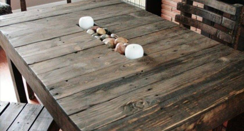 Diy Plans Decorating Your Food Area Pallet Dining